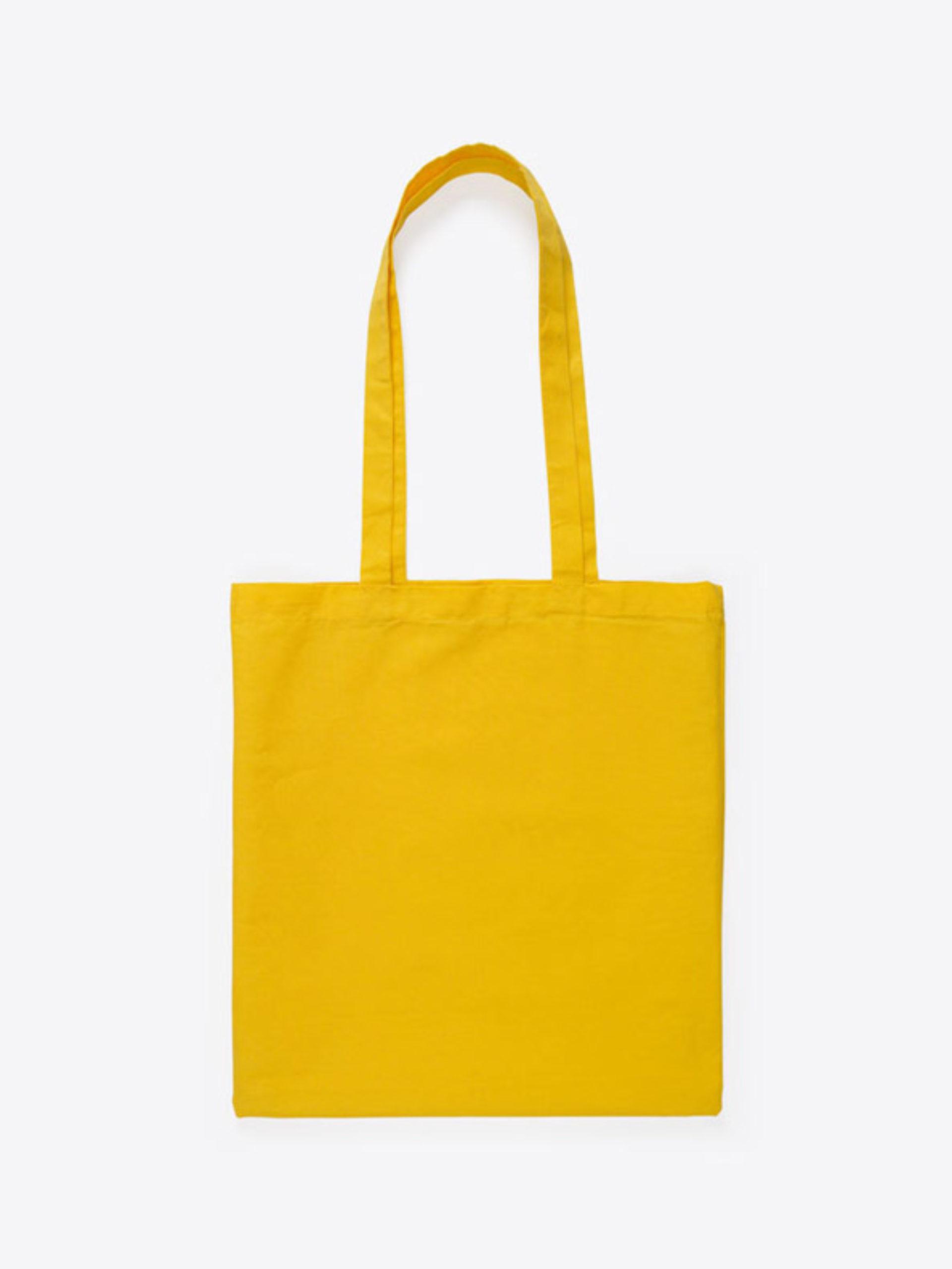 Baumwoll Beutel Unbedruckt Gelb
