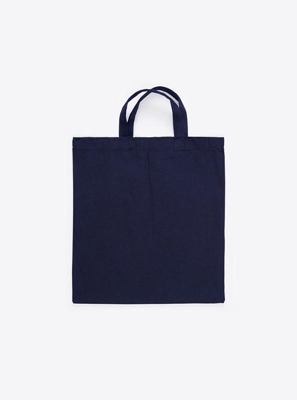 Baumwoll Tasche Unbedruckt Marineblau