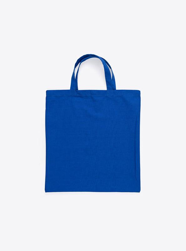 Baumwoll Tasche Unbedruckt Royalblau