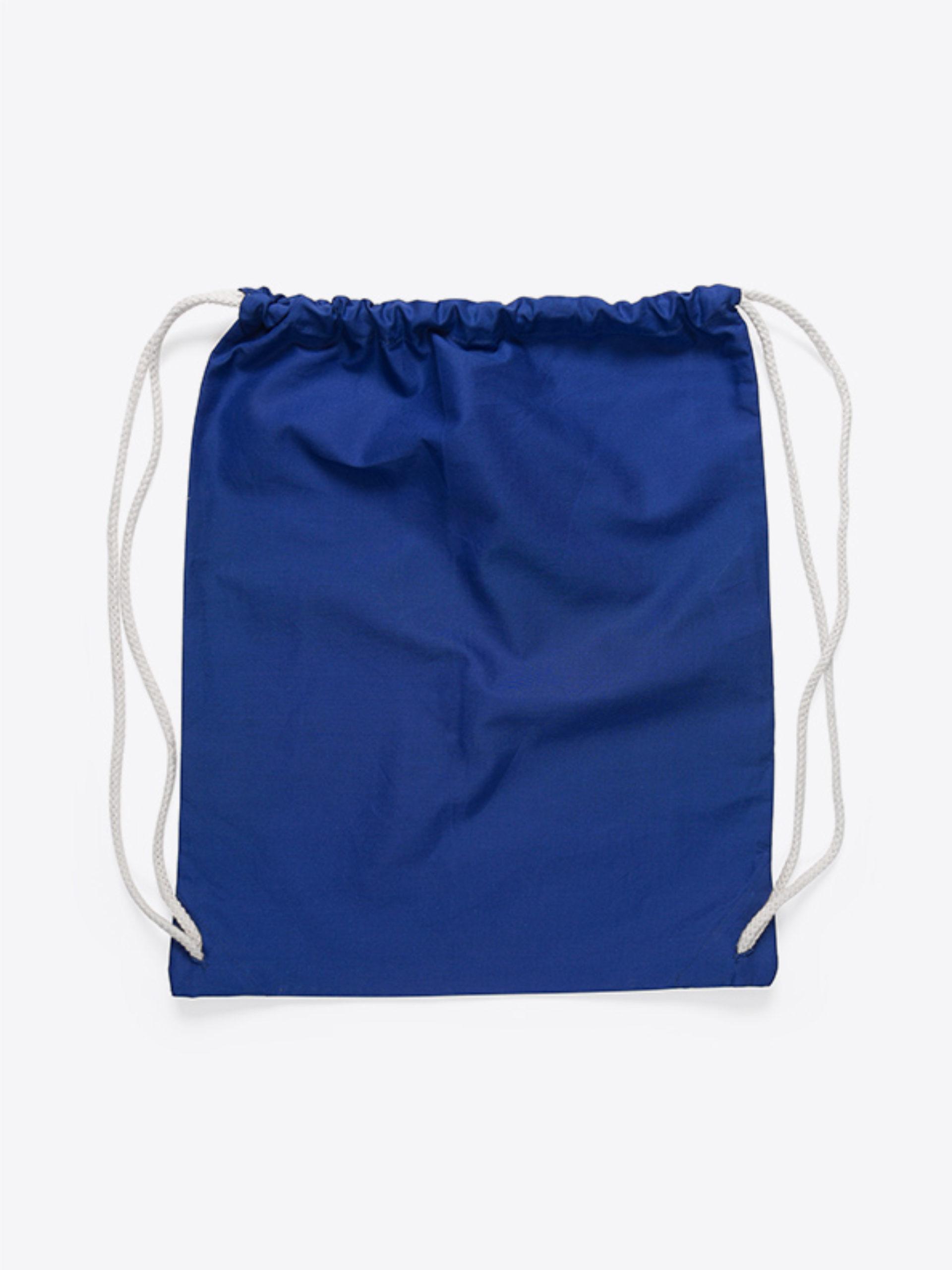 Gym Bag Unbedruckt Blau