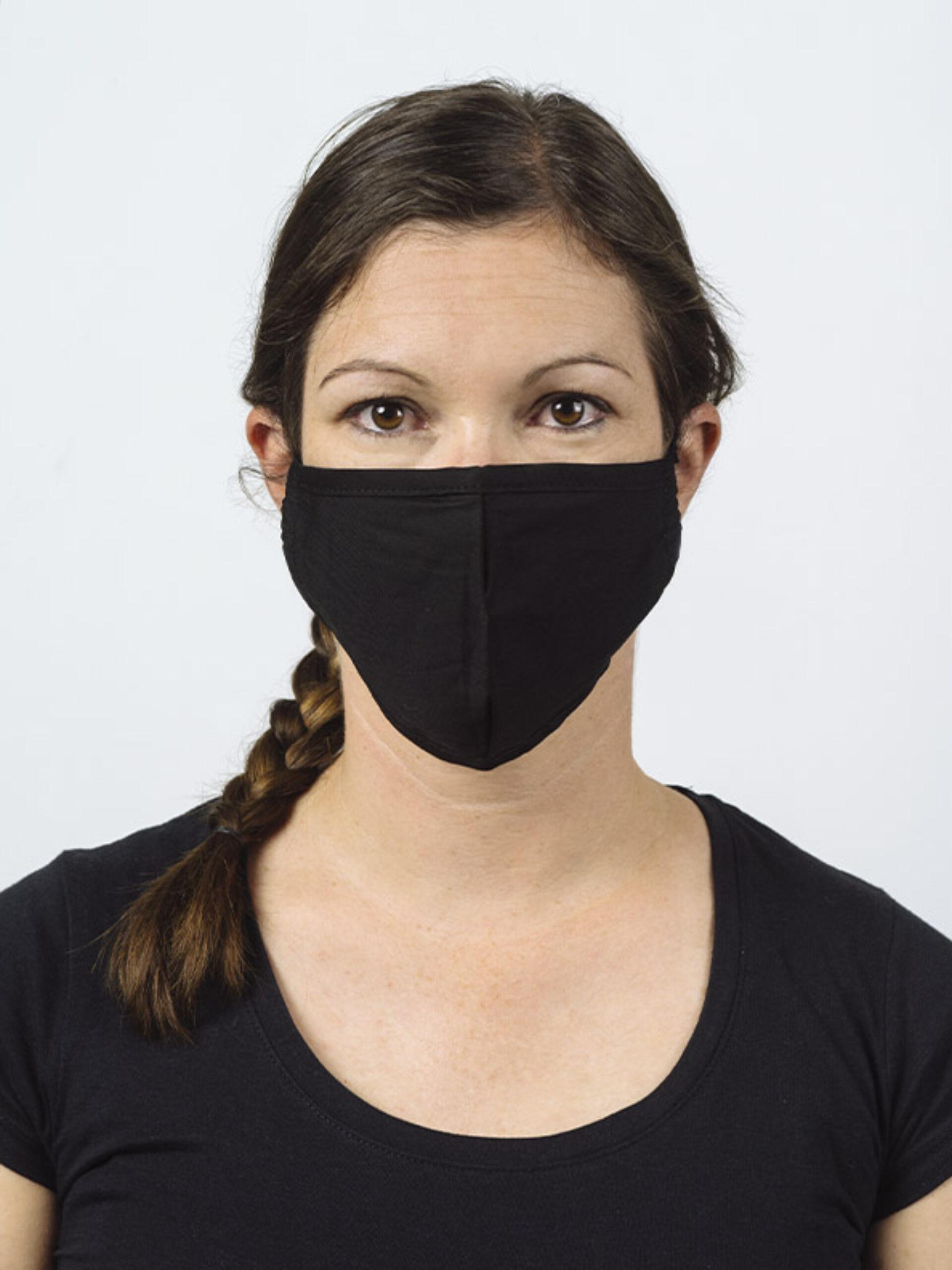 Community Maske Schutzmaske Mit Wechselfilter Schwarz Kaufen Model