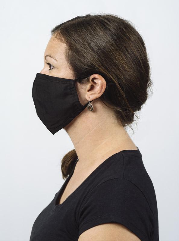 Community Maske Schutzmaske Mit Wechselfilter Schwarz Model