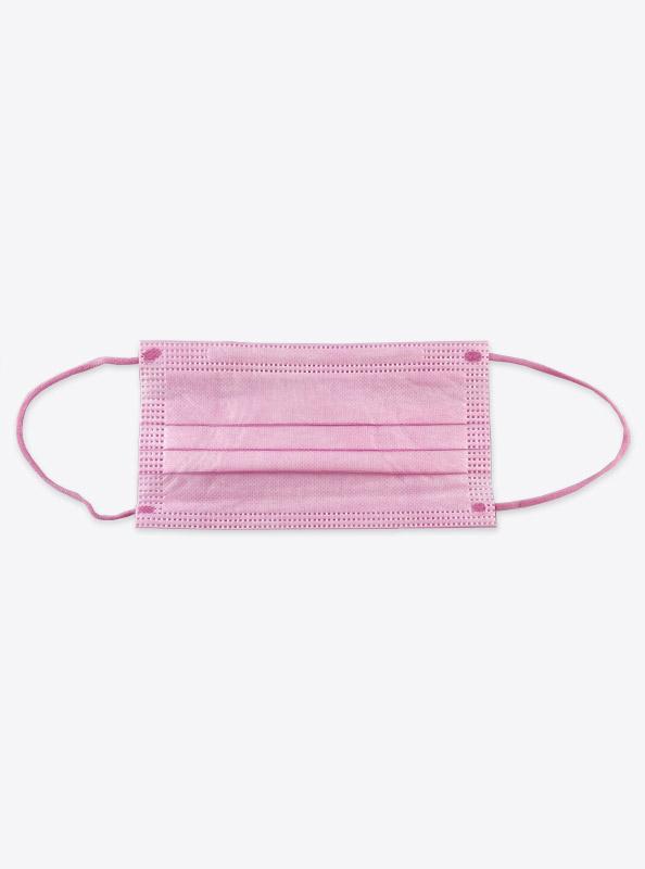 Einwegschutzmaske Hygienemaske Rosa