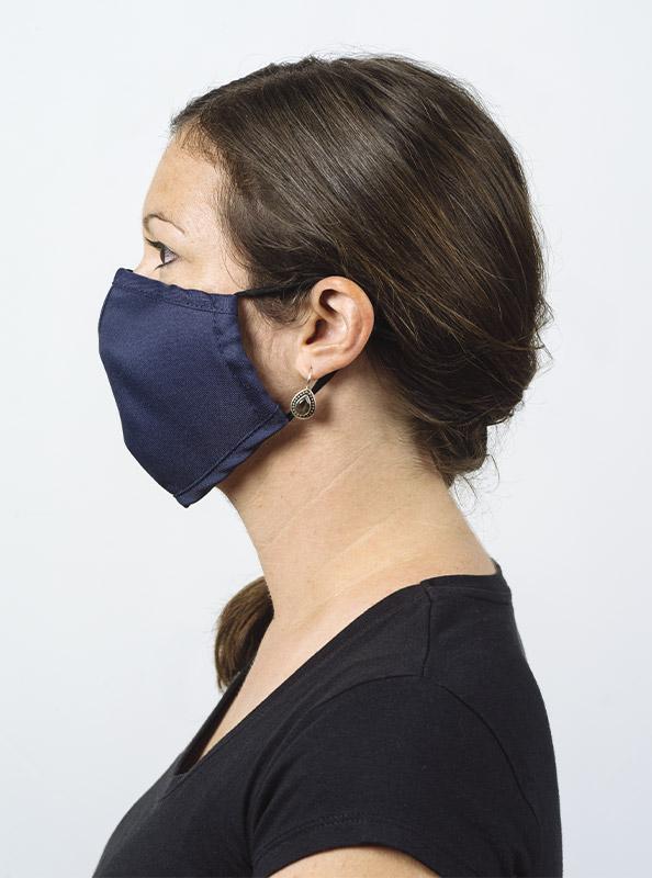Community Maske Schutzmaske Mit Wechselfilter Blau Navy Kaufen Model