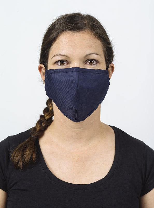 Community Maske Schutzmaske Mit Wechselfilter Blau Navy Model