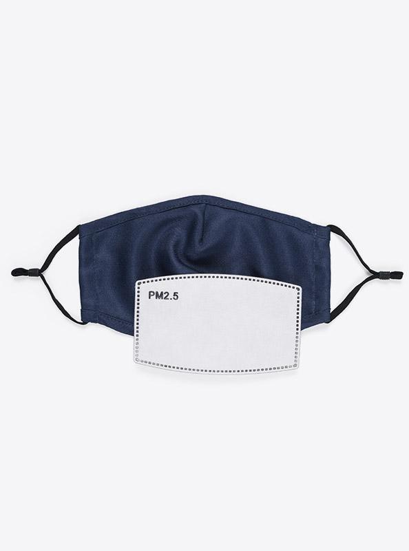 Community Maske Schutzmaske Mit Wechselfilter Blau Navy