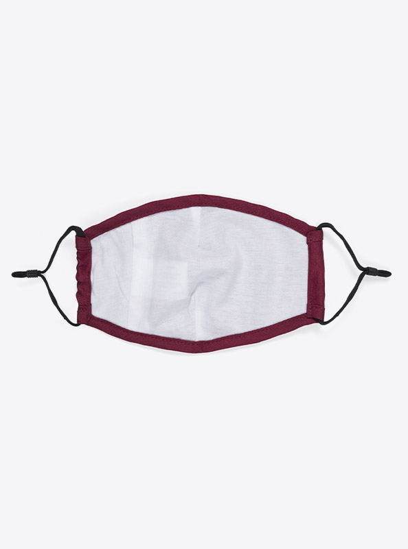Community Maske Schutzmaske Mit Wechselfilter Rot Bordeaux Ab Lager