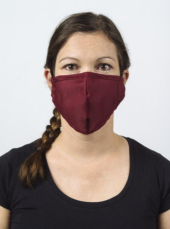 Community Maske Schutzmaske Mit Wechselfilter Rot Bordeaux Bestellen Model