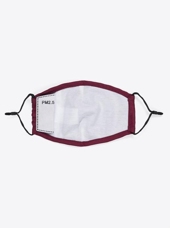Community Maske Schutzmaske Mit Wechselfilter Rot Bordeaux Kaufen