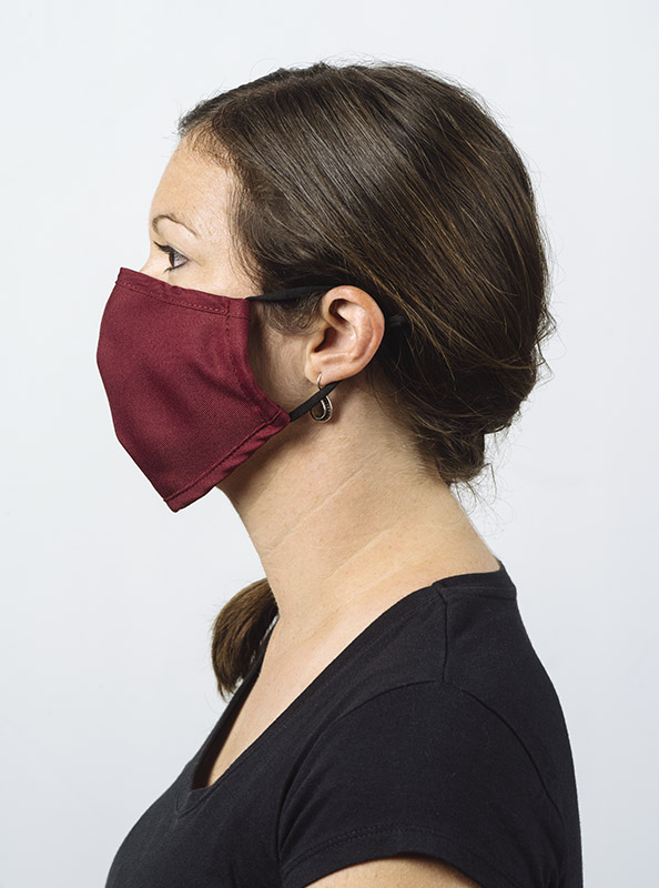 Community Maske Schutzmaske Mit Wechselfilter Rot Bordeaux Model
