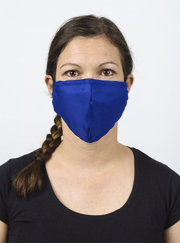 Community Maske Schutzmaske Mit Wechselfilter Blau Royal