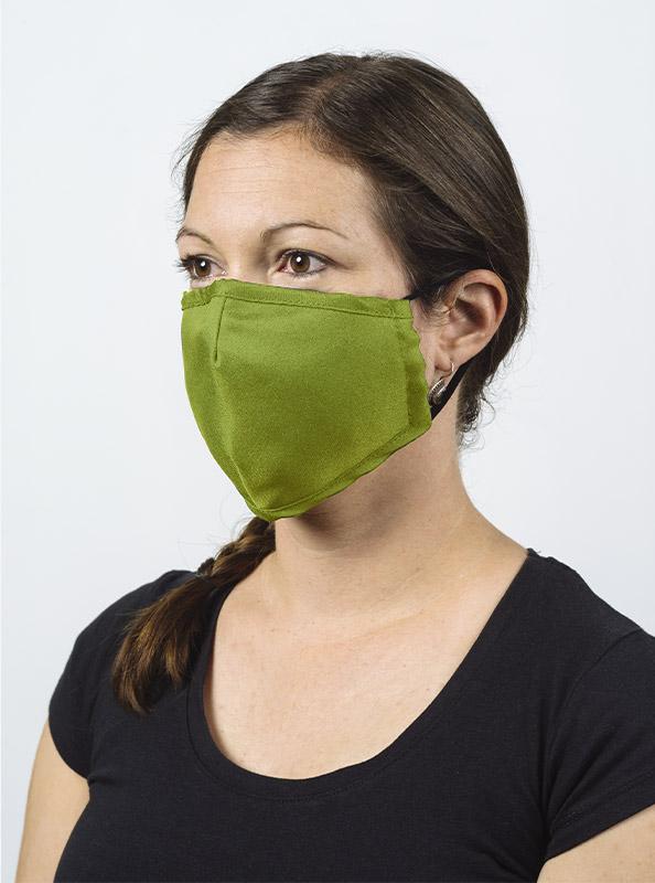 Community Maske Gesichtsschutz Mit Wechselfilter Gruen