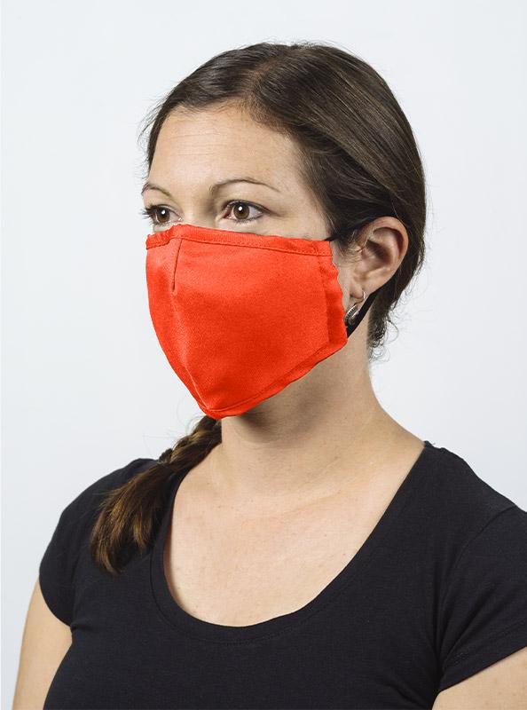 Community Maske Gesichtsschutz Mit Wechselfilter Leuchtorange