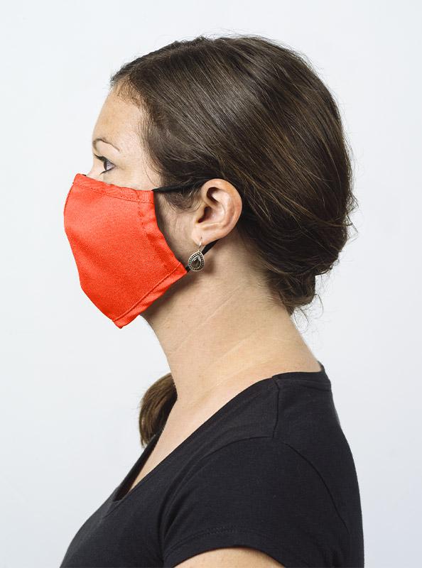 Community Maske Schutzmaske Mit Wechselfilter Leuchtorange Ab Lager