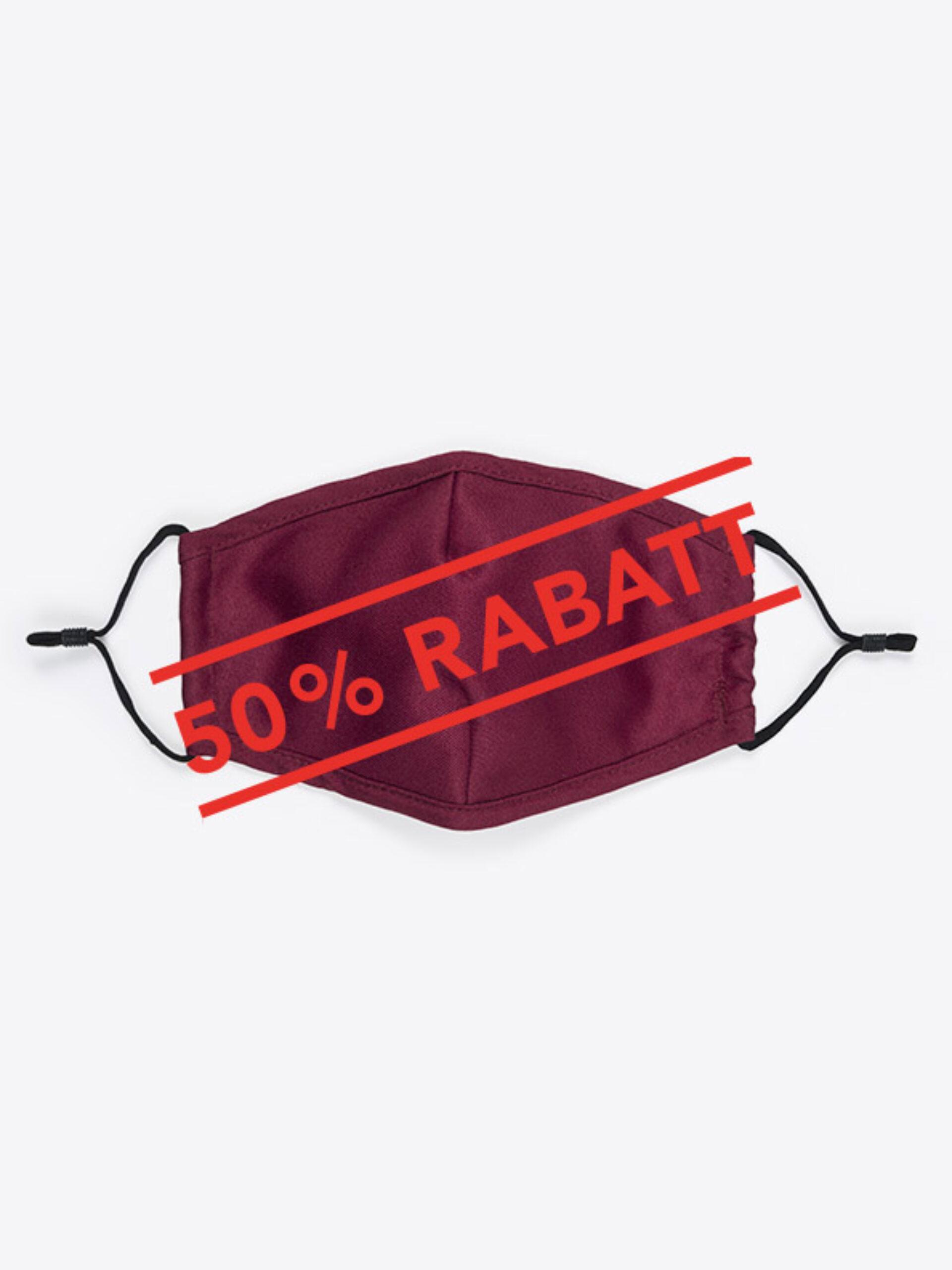 Community Maske Schutzmaske Mit Wechselfilter Rot Bordeaux Zurich Rabatt