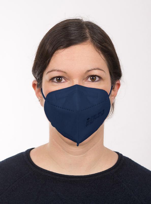 Ffp2 Schutzmaske Einwegmaske Blau Kaufen Zurich