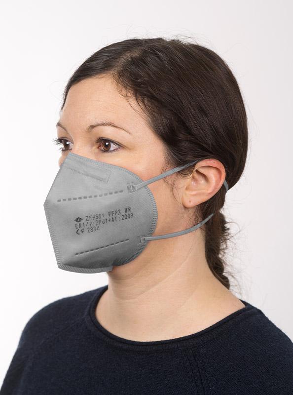 Ffp2 Schutzmaske Einwegmaske Grau Bestellen Zurich