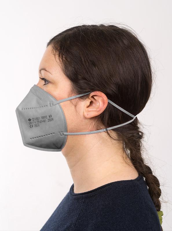 Ffp2 Schutzmaske Einwegmaske Grau Kaufen Schweiz