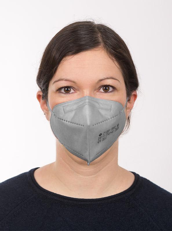 Ffp2 Schutzmaske Einwegmaske Grau Kaufen Zurich Ab Lager