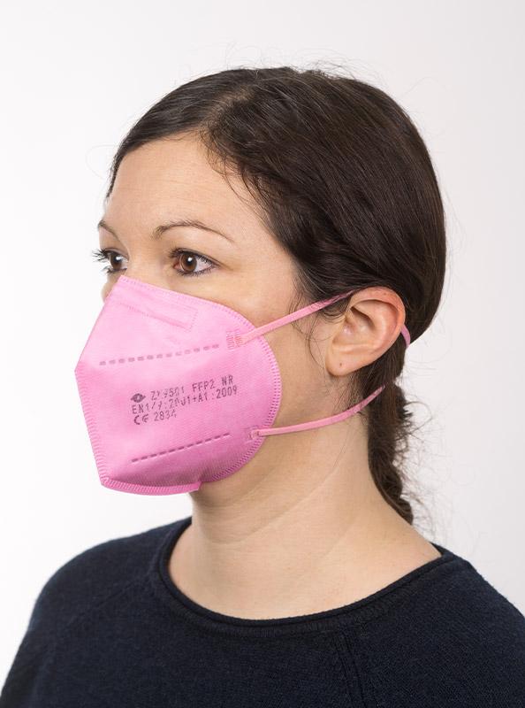 Ffp2 Schutzmaske Einwegmaske Pink Kaufen Ab Lager Zurich