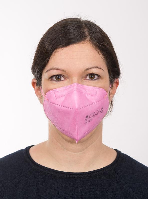 Ffp2 Schutzmaske Einwegmaske Pink Kaufen Schweiz