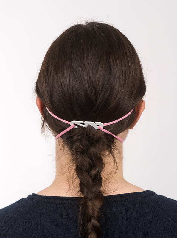 Ffp2 Schutzmaske Einwegmaske Pink Kaufen Verschluss