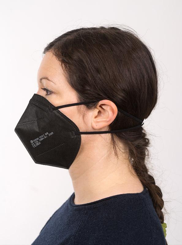 Ffp2 Schutzmaske Einwegmaske Schwarz Kaufen Schweiz