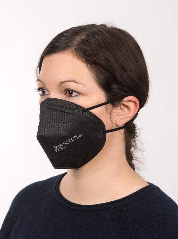 Ffp2 Schutzmaske Einwegmaske Schwarz Kaufen Zurich