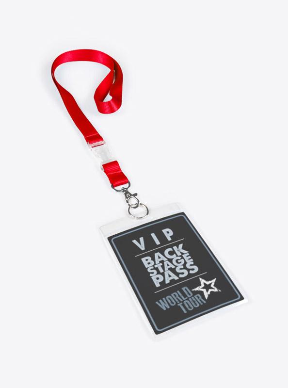 Ausweisshüllen Backstage PP