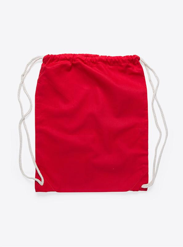 Gym Bag unbedruckt rot