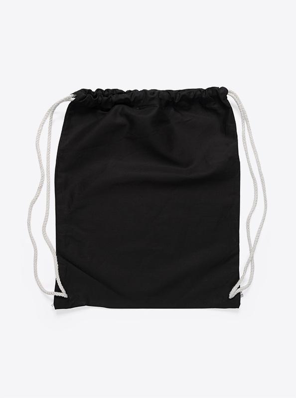 Gym Bag unbedruckt schwarz