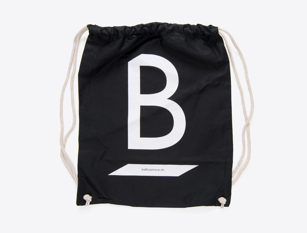 Balboa Move Gym Bag mit Logo bedruckt