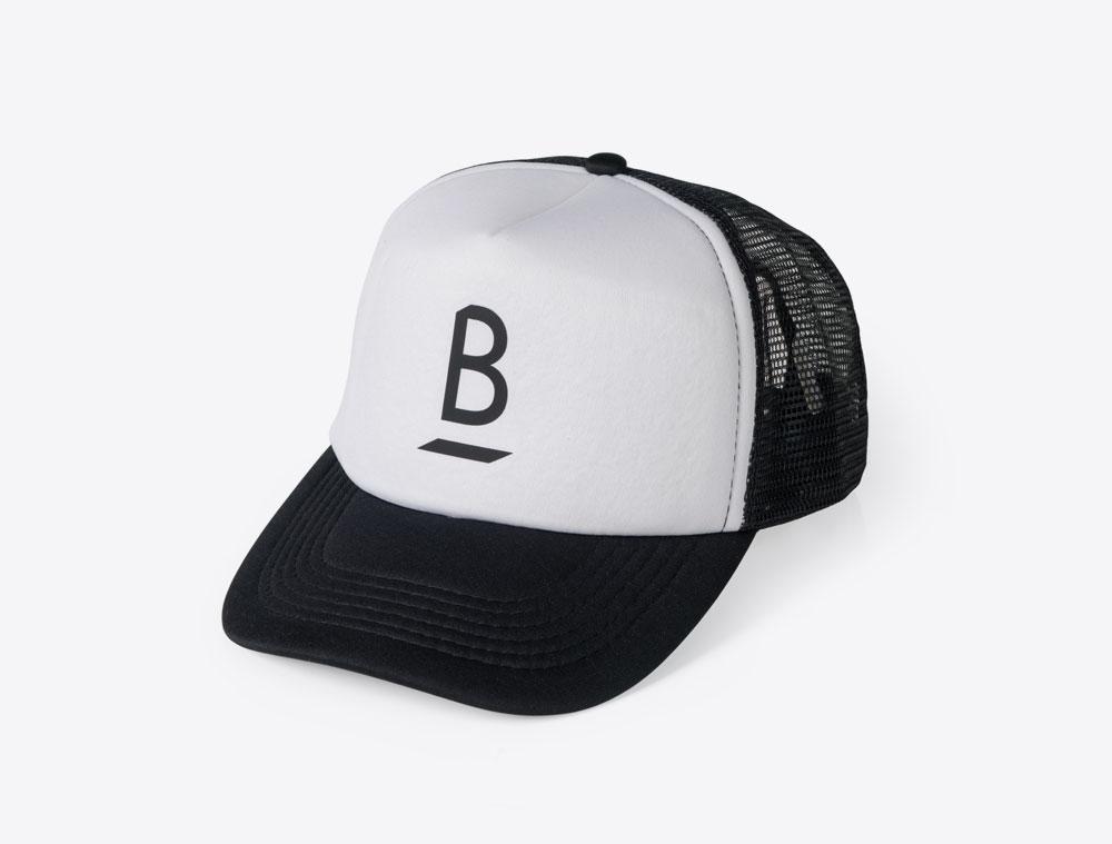 Balboa Move Trucker Cap mit Logo bedruckt