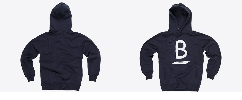 Sweatshirts mit Siebdruck veredelt