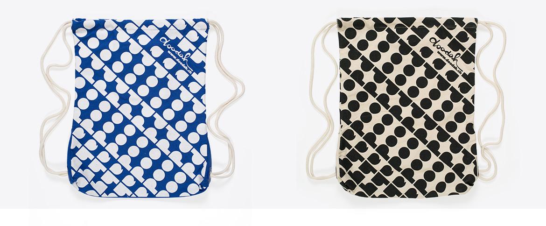 Draw Sring Bag Alloverprint