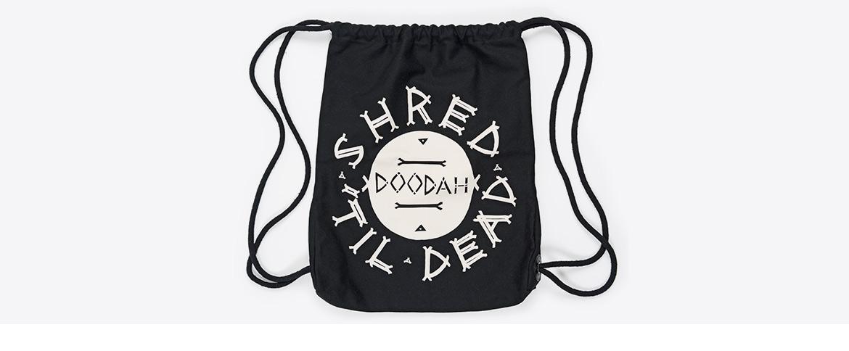 Hipster Bag mit Siebdruck