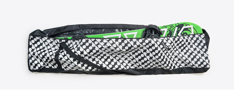 Snowboardbag aus Polyester bedruckt