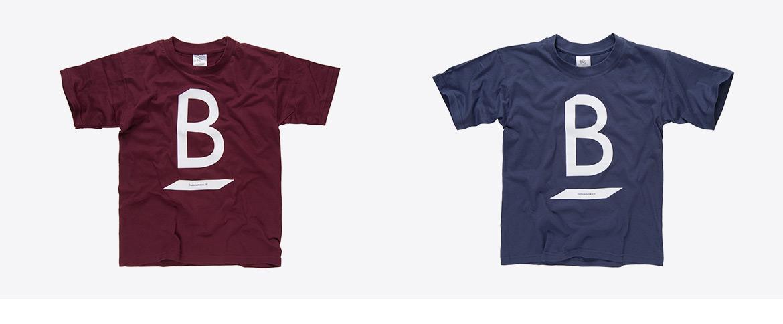 T-Shirts mit Logo bedruckt