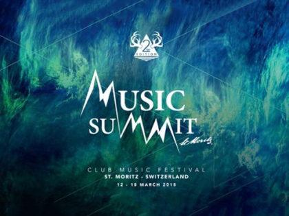Satin Kontrollbänder für Music Summit St. Moritz