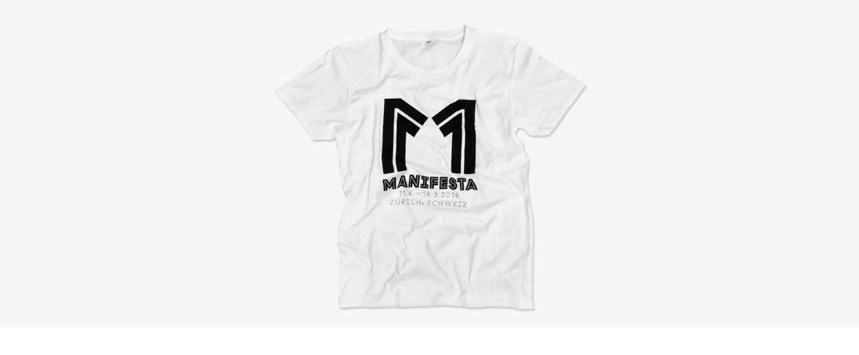 T-Shirt mit Logo bedruckt