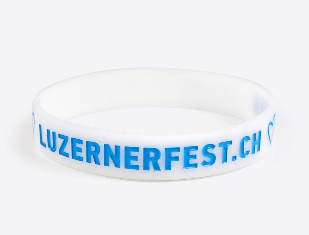 Silikonband Luzernerfest