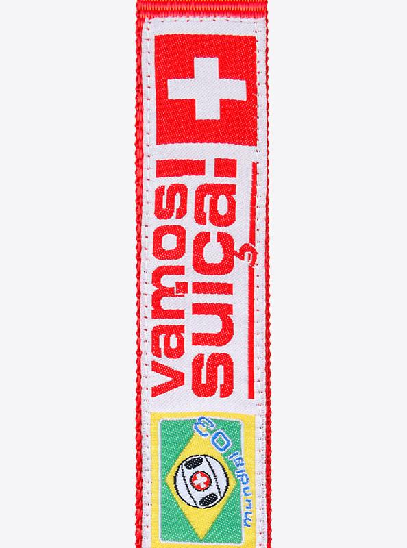 Lanyard PVC Aufnäher gewobenes Label