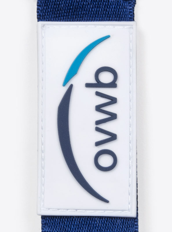 "Lanyard PVC Aufnäher ""ovwb"""