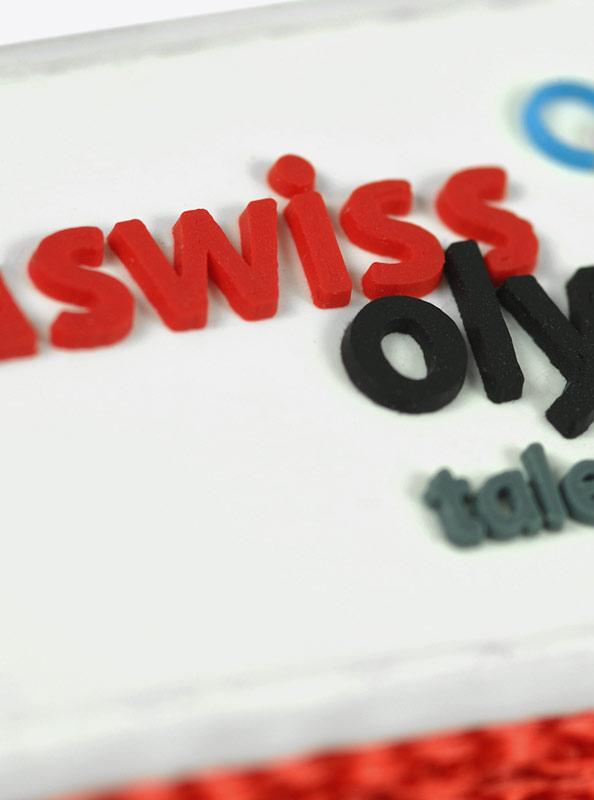 "Lanyard PVC Aufnäher ""Swiss Olympics"""