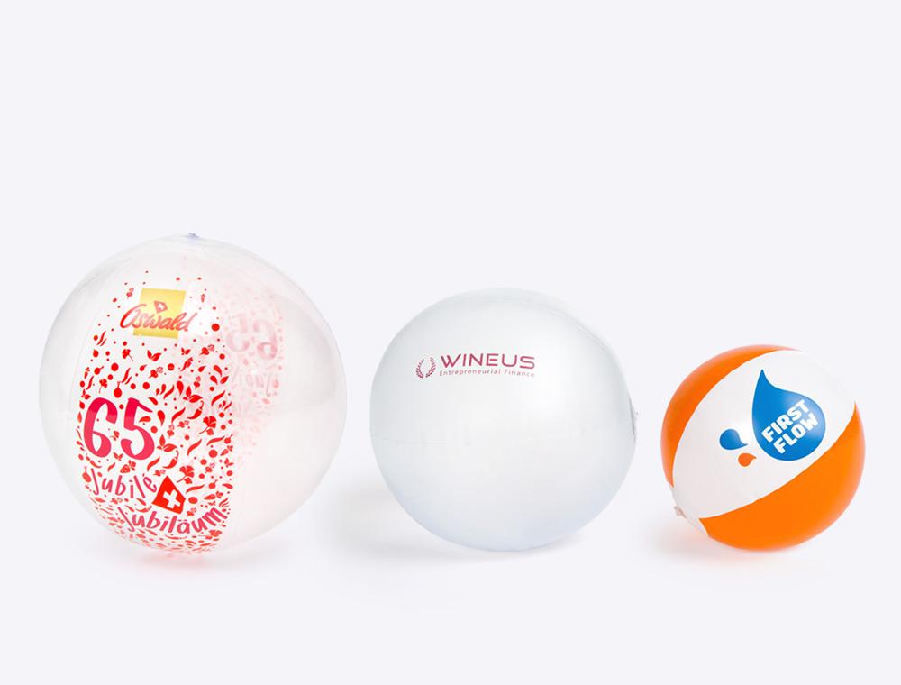 Wasserbälle mit Logo bedruckt