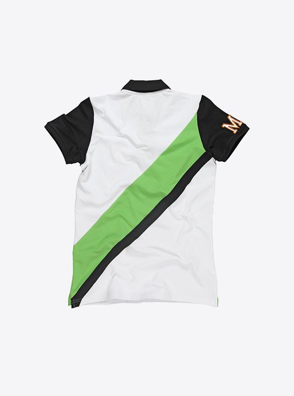 Damen Polo Shirt Kurzarm bestickt