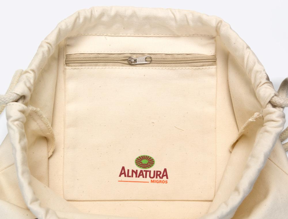 Gym Bag Bio Baumwolle bedrucken