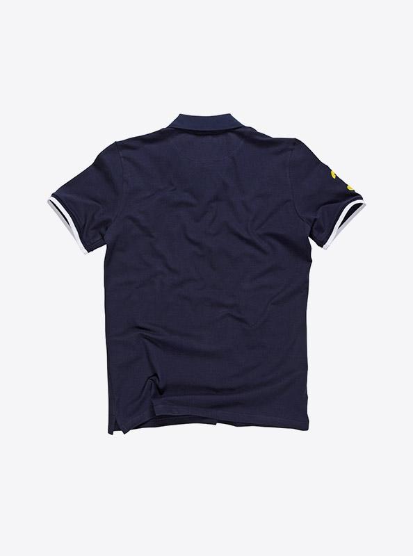 Herren Polo Shirt mit Logo bestickt