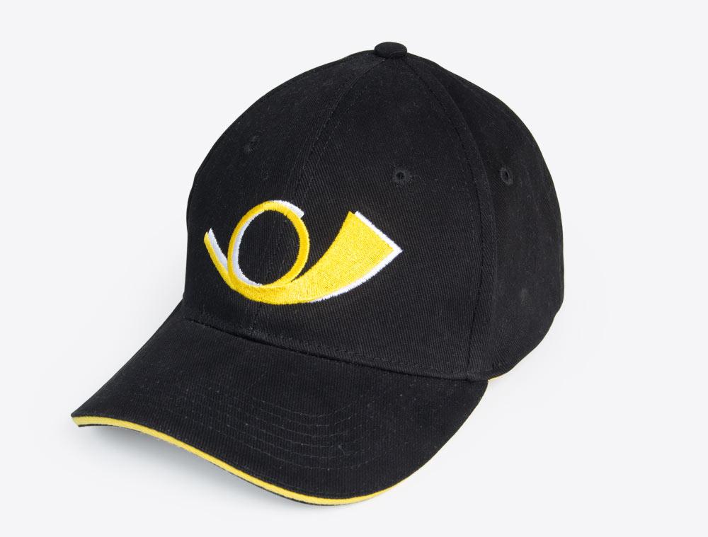 Merchandising Artikel Baseball Cap bestickt PostAuto