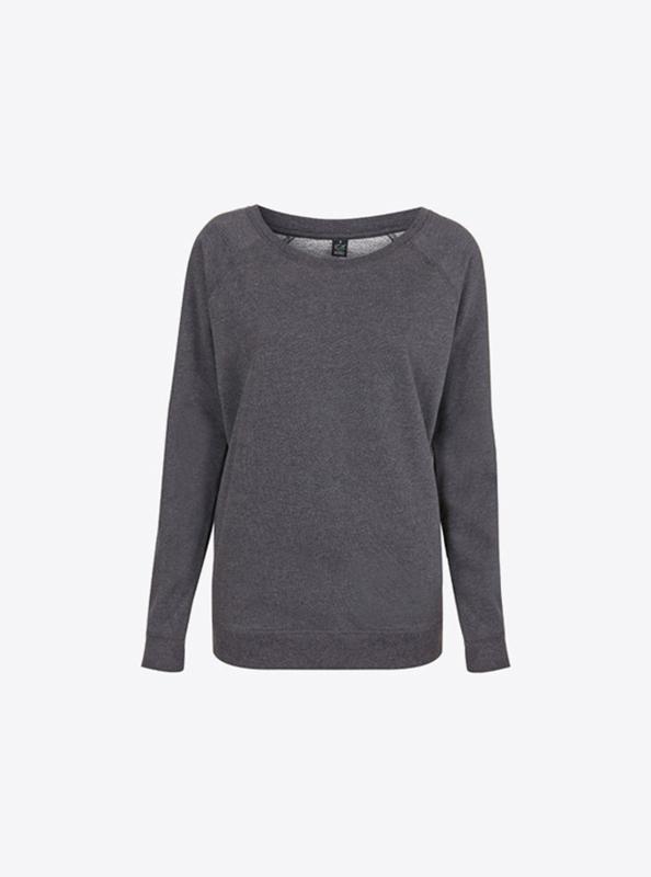 Damen Sweatshirt Bio-Baumwolle besticken